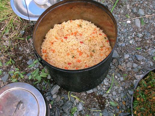 Рецепты блюд для похода